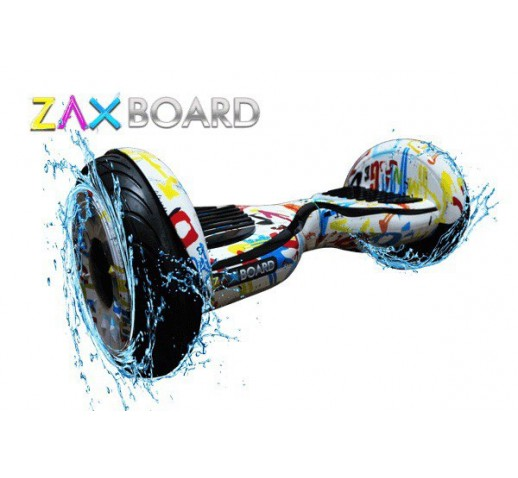 ZaxBOARD White Graffiti